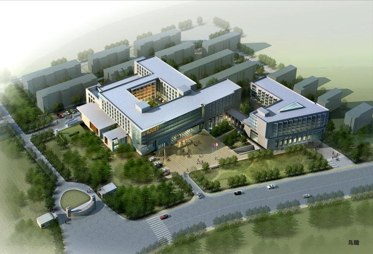 [江苏]南京理工大学国际教育中心学校建筑方案图