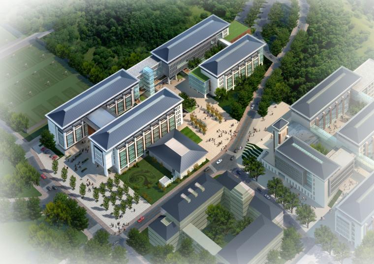 [江苏]南京工业大学浦江校区教学楼建筑设计
