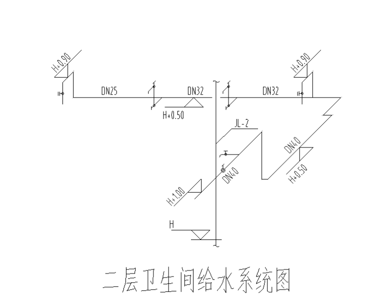 [广东]医院压氧舱及污水处理站给排水消防施工图