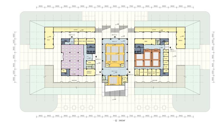 [江苏]南京交通职业技术学院学校建筑方案设计图(JPG+SU)_9