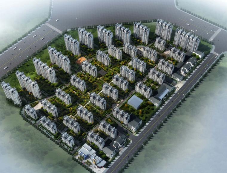[河南]新中式风格住宅区规划设计方案文本(含CAD)
