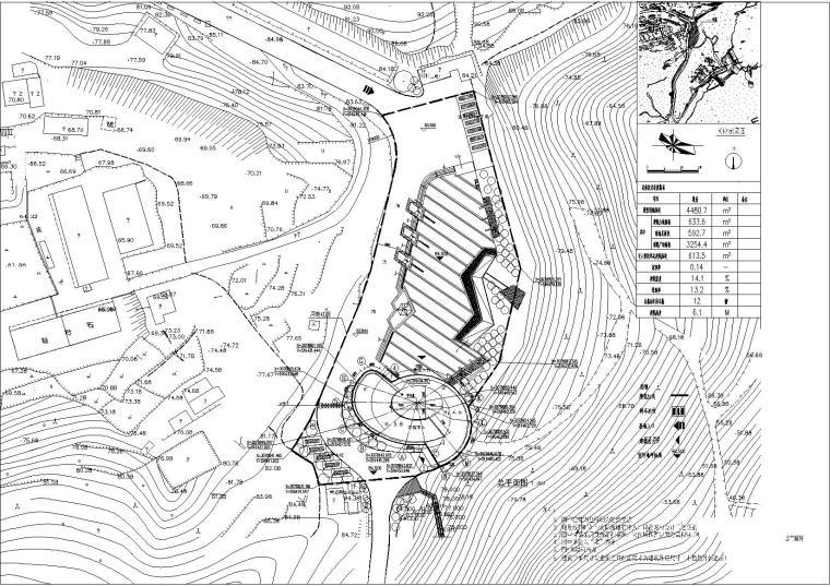 [浙江]多层旅游景区游客中心建筑施工图(救生中心)