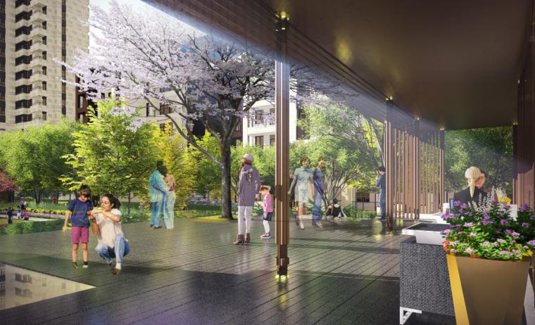 [江苏]南京旭辉高端品质新中式居住区方案文本(含:CAD,SU模型)
