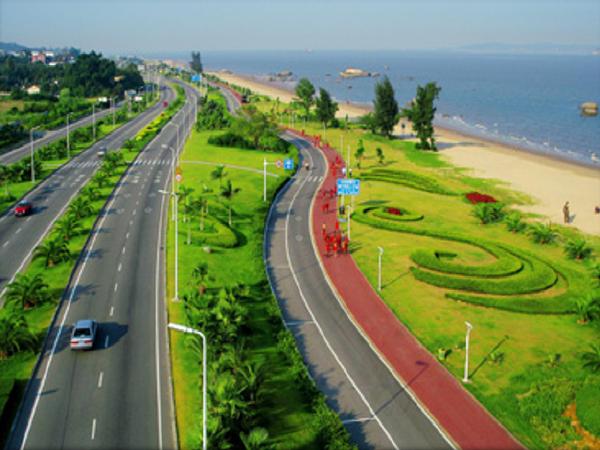 道路景观、地面铺装、地形改造在景观园林设计中的应用