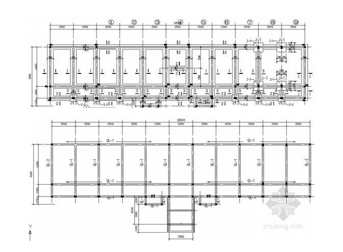 二层砌体办公楼结构施工图