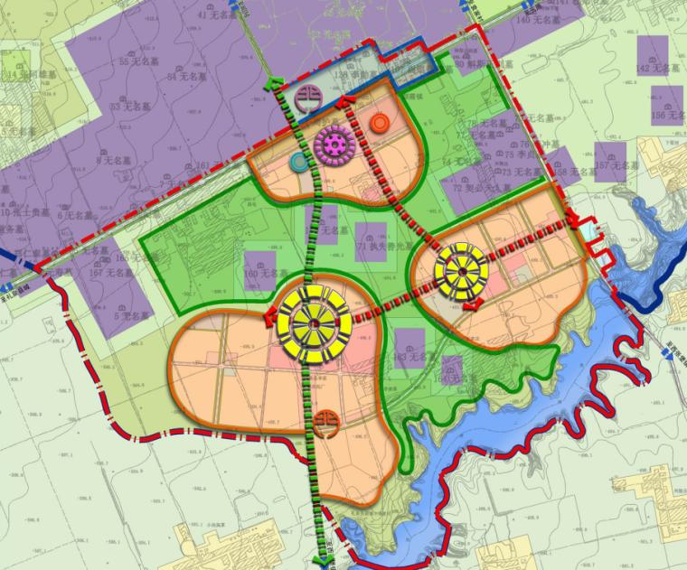 [陕西]咸阳市礼泉县烟霞镇村镇总体规划方案图纸_8