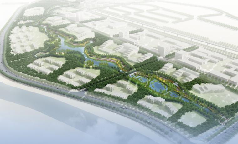 [北京]海东科技园水系景观工程设计方案文本