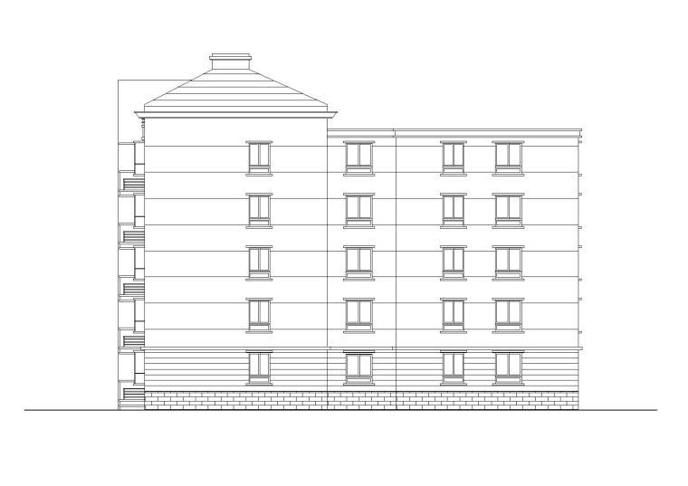 [安徽]亳州某小学职工住宅楼改造工程施工图