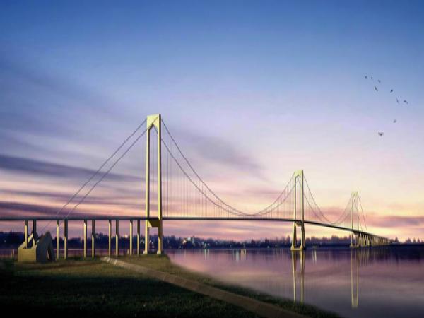 [江苏]泰州长江大桥设计及创新PPT总结(86页)