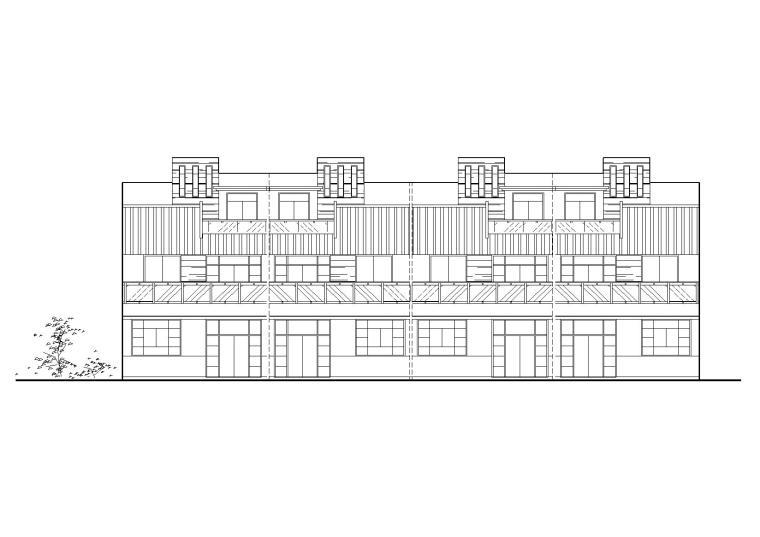 [江苏]常州武进设计院农村民居建筑竞赛作品方案图