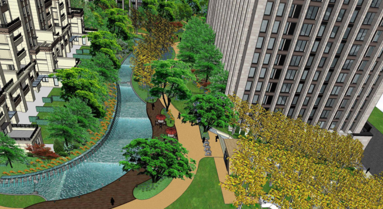 [重庆]龙湖原著二期居住区项目景观概念方案文本