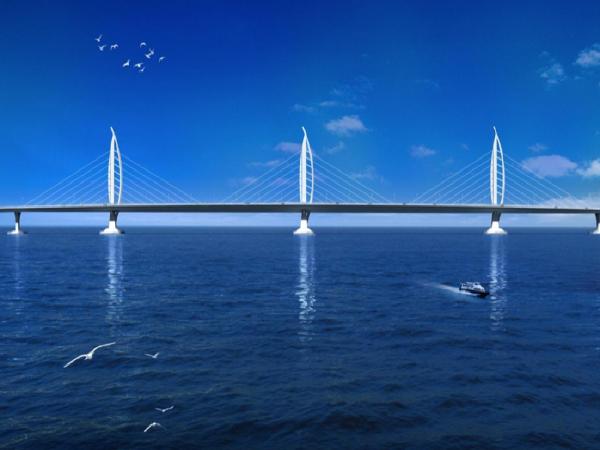 [珠海]跨海大桥主体工程桥梁工程特点及设计技术创新(144页)