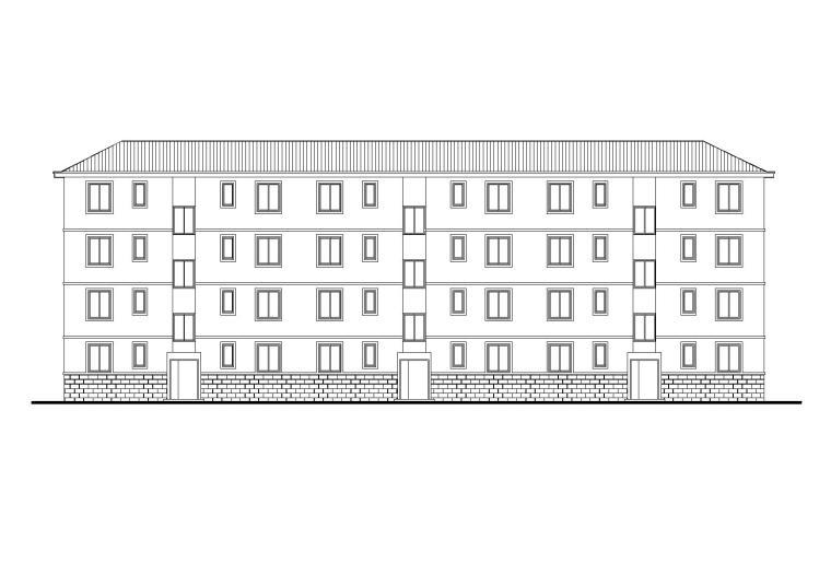 [山西]某部队宿舍楼建筑施工图