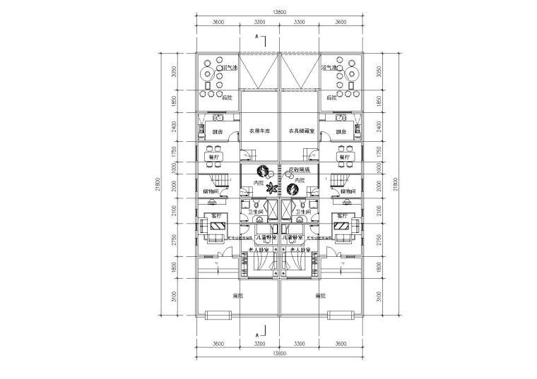 [江苏]常州规划设计院户型图竞赛作品
