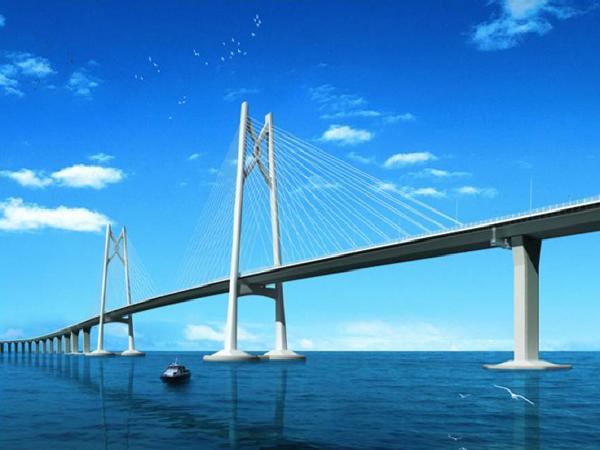[珠海]跨海大桥总体设计及关键施工技术(131页)