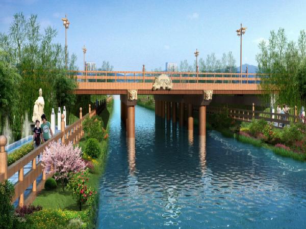 望城滨江新城景观桥梁规划概念设计