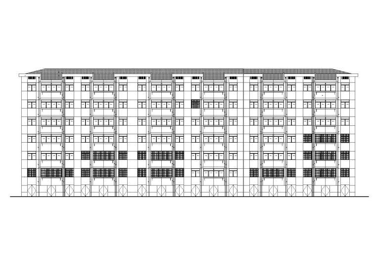 [杭州]市中心老旧小高层住宅改造建筑施工图(2015年图纸)_1