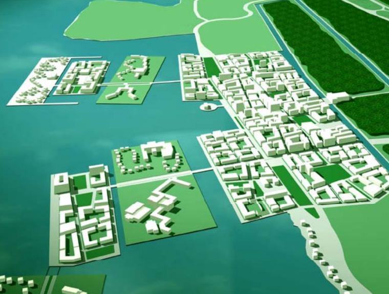 [上海]崇明岛生态绿岛总体规划方案文本