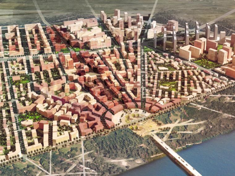 [河北]大厂县新农村改造城市设计方案图