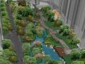 [北京]保利石佛营新中式高档居住社区景观方案文本-奥雅(含实景照片+SU模型)
