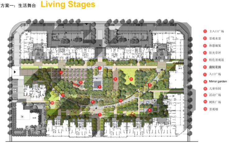 [陕西]西安高新水晶居住区景观概念方案设计(中央庭院)-张唐