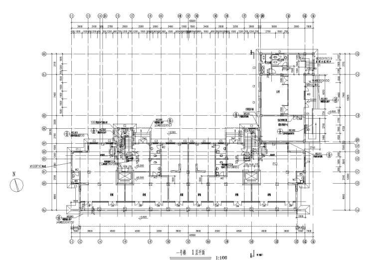 [湖北]武汉阳城景园小区小高层住宅楼建筑施工图_5