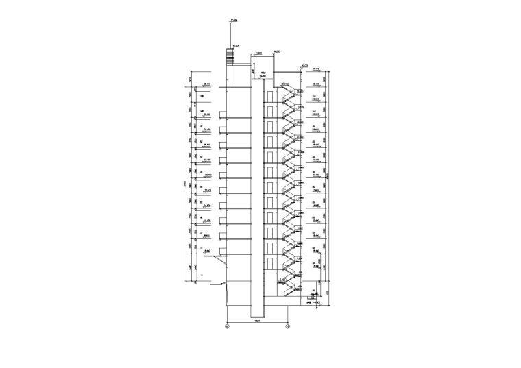 [湖北]武汉阳城景园小区小高层住宅楼建筑施工图_9