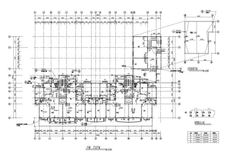 [湖北]武汉阳城景园小区小高层住宅楼建筑施工图_6