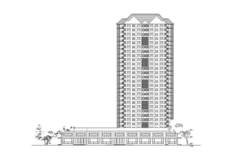 [湖南]长沙华银园高层住宅居住施工图