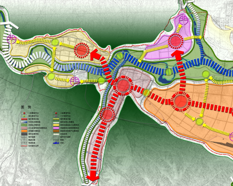 [青海]西宁市民和县城镇总体规划图纸_6