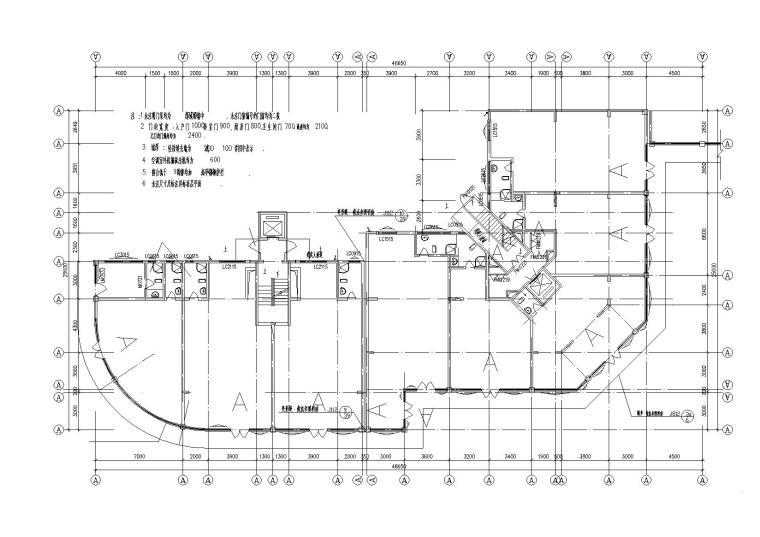 高层底商住宅楼建筑施工图(含效果图)_4