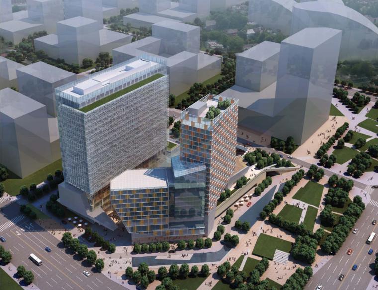[四川]成都中航高新南7#地块项目概念方案设计图