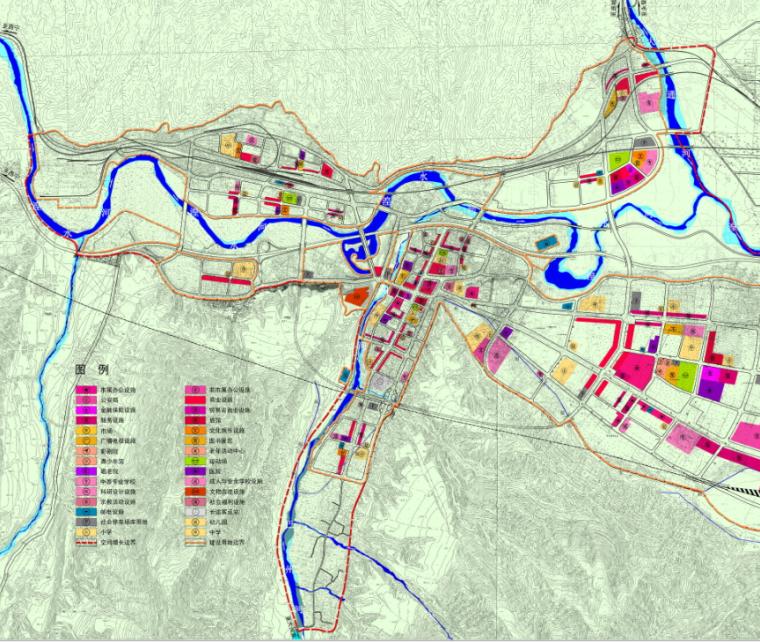 [青海]西宁市民和县城镇总体规划图纸_10
