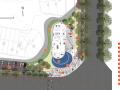 [江苏]南京证大下关项目售楼处广场景观方案文本深化-张唐