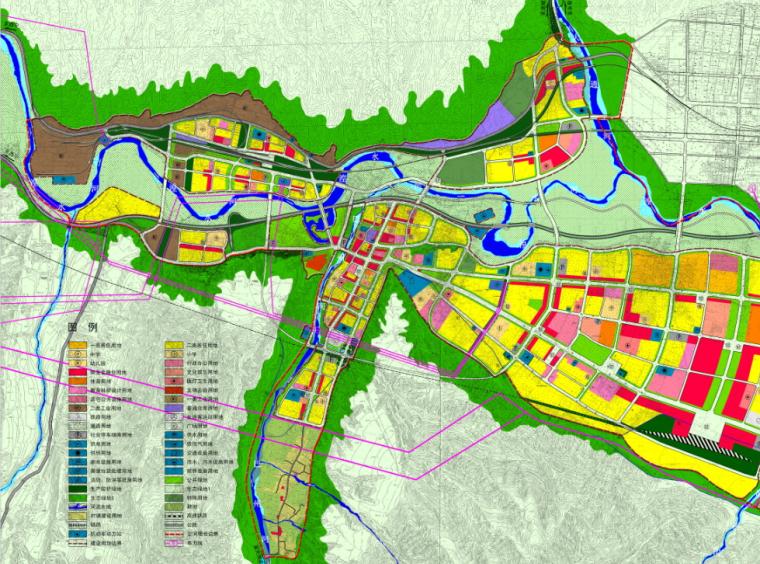 [青海]西宁市民和县城镇总体规划图纸_8