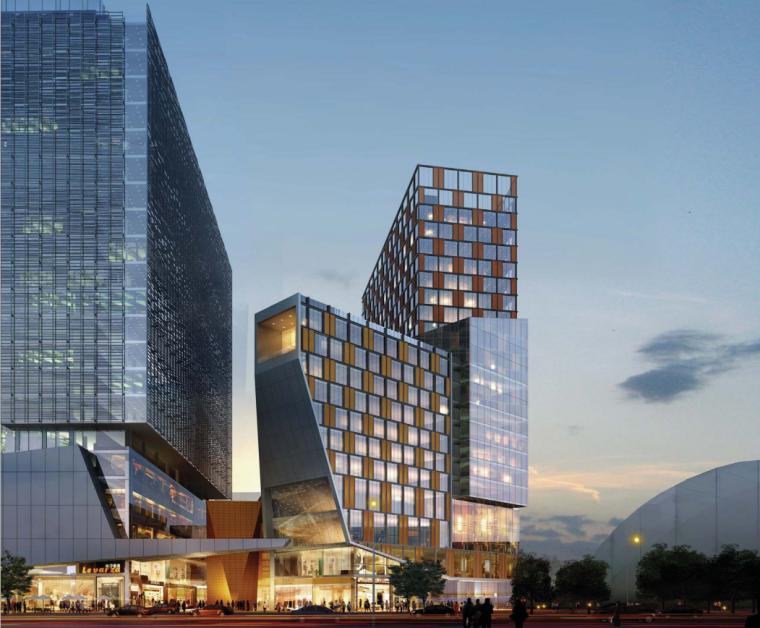 [四川]成都中航高新南7#地块项目概念方案设计图_3