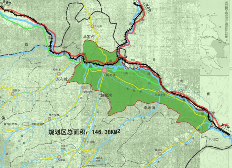 [青海]西宁市民和县城镇总体规划图纸_4