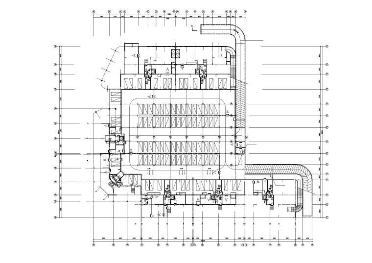 高层底商住宅楼建筑施工图(含效果图)_2