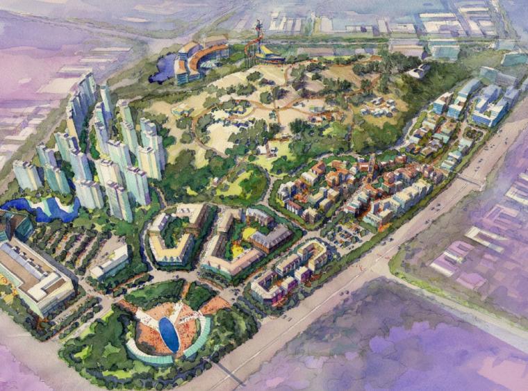 [江苏]连云港西小山国际购物公园项目方案设计文本