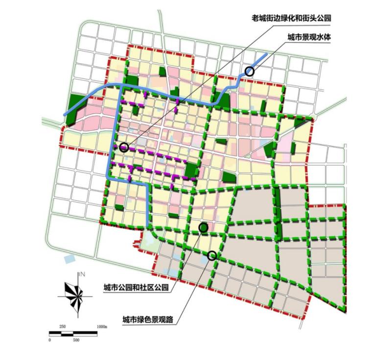 [内蒙古]园林新城宜居开鲁总体城市设计文本_5