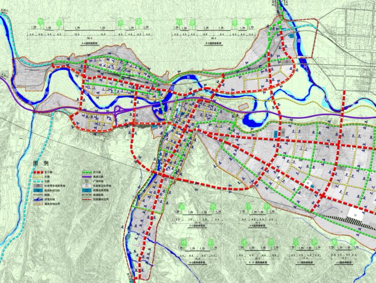 [青海]西宁市民和县城镇总体规划图纸_9