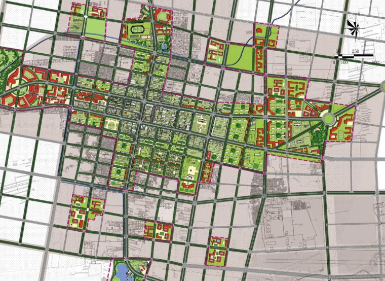 [内蒙古]园林新城宜居开鲁总体城市设计文本_2