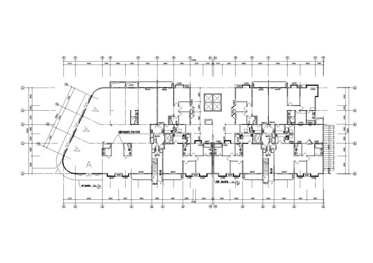 高层底商住宅楼建筑施工图(含效果图)_3