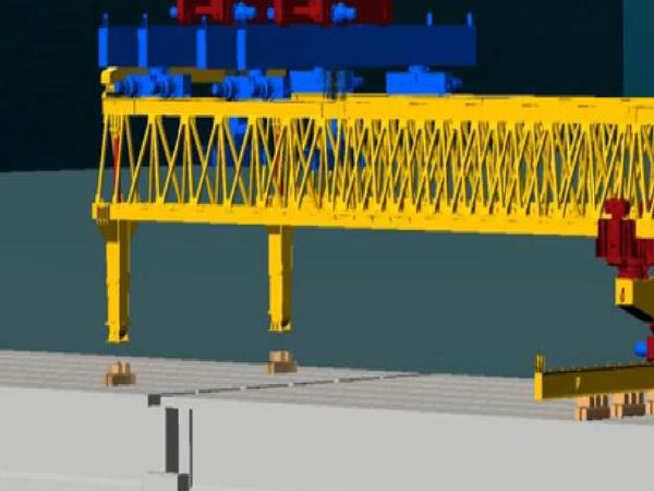 40M预制箱梁架设安装方案