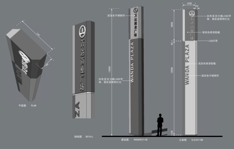 [上海]周浦知名地产广场景观和外部空间深化设计方案文本_12