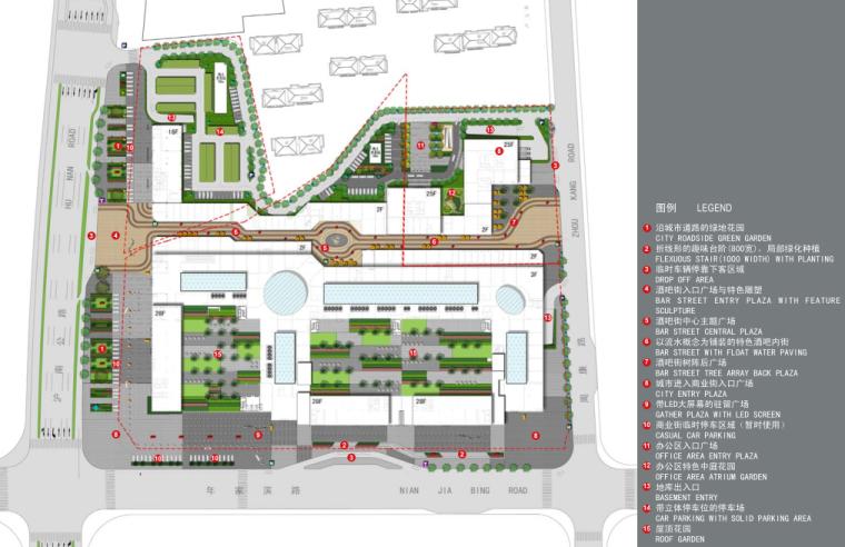[上海]周浦知名地产广场景观和外部空间深化设计方案文本_5