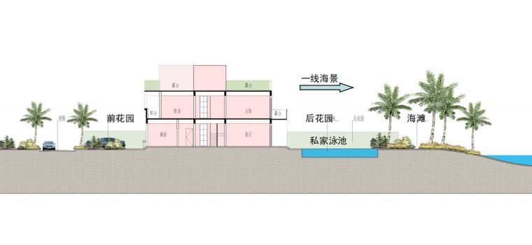 [广东]惠州大亚湾东正酒店及别墅区建筑设计方案图_9