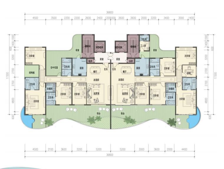 [广东]惠州大亚湾东正酒店及别墅区建筑设计方案图_8