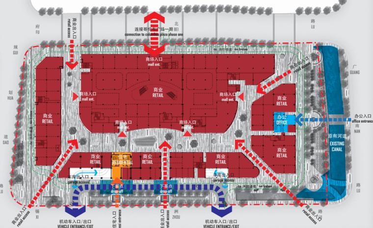 [浙江]无锡哥伦布广场景观二期项目景观方案文本_2