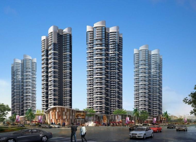 [广东]惠州大亚湾东正酒店及别墅区建筑设计方案图_3